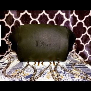 Dior Cosmetic pouch to crossbody bag